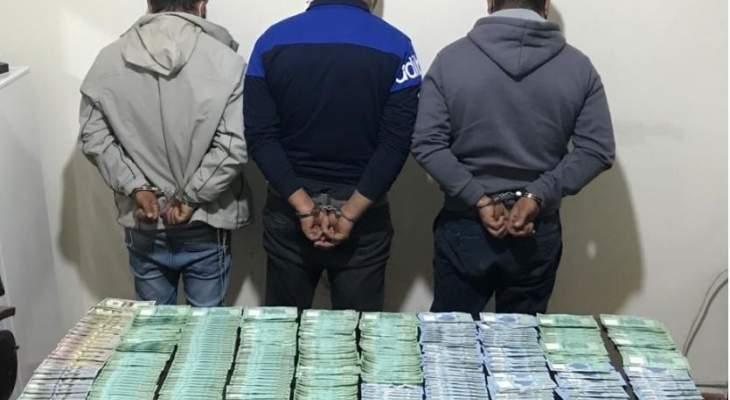 فصيلة شحيم أوقفت عصابةً سرق أفرادها مبالغ مالية من منزل وخبأوها في شجرة