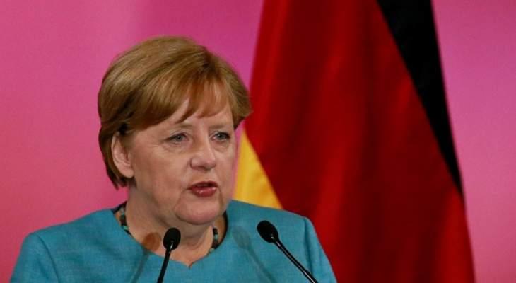 ميركل: المانيا لا تزال كما في السابق بحاجة إلى حوار مع روسيا