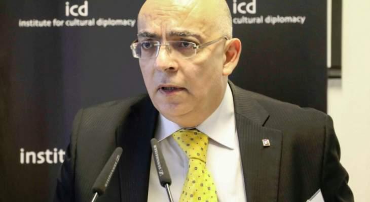 ابو سعيد: لعودة سوريا سريعا إلى الجامعة العربية