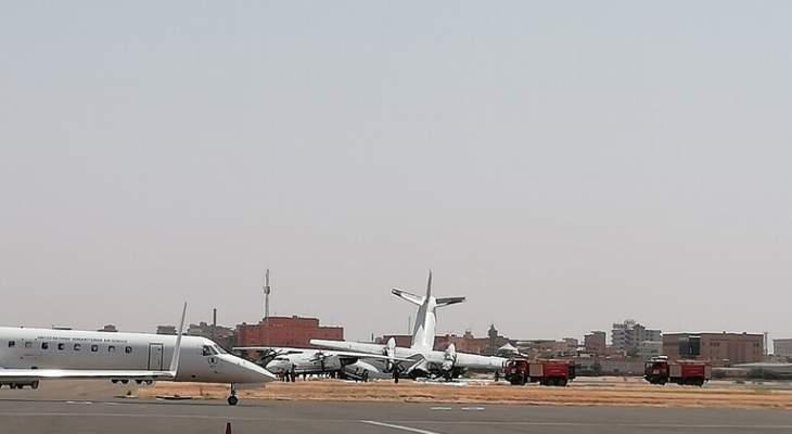 سلطات السودان: ضبط شحنة أسلحة بمطار الخرطوم عبر طائرة قادمة من أديس أبابا