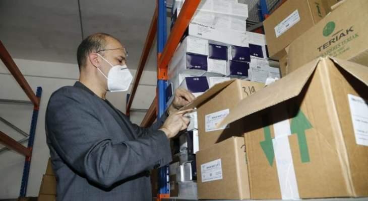 وزير الصحة يجري كشفا ميدانيا على مستودعات الأدوية والصيدليات بالبقاع للتحقق من مخزون الأدوية