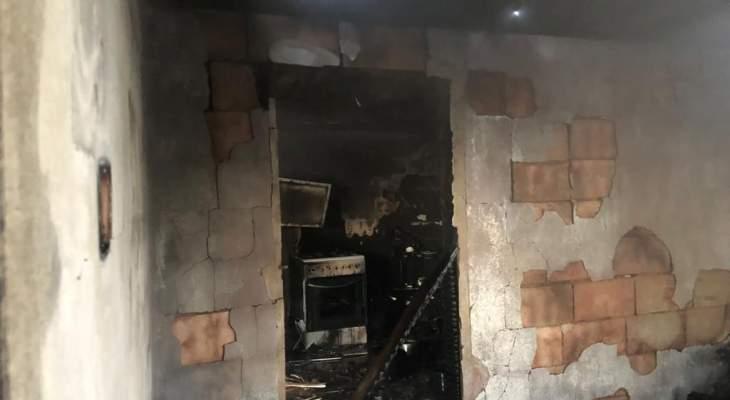 النشرة: مقتل شخصين نتيجة حريق في سعدنايل