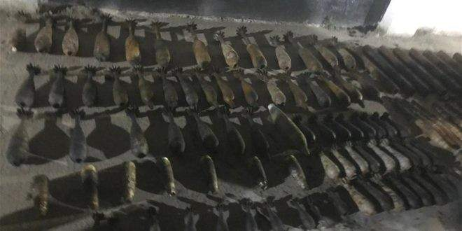 الإستخبارات العراقية: ضبط ذخائر مخلفات تنظيم داعش شمال بغداد