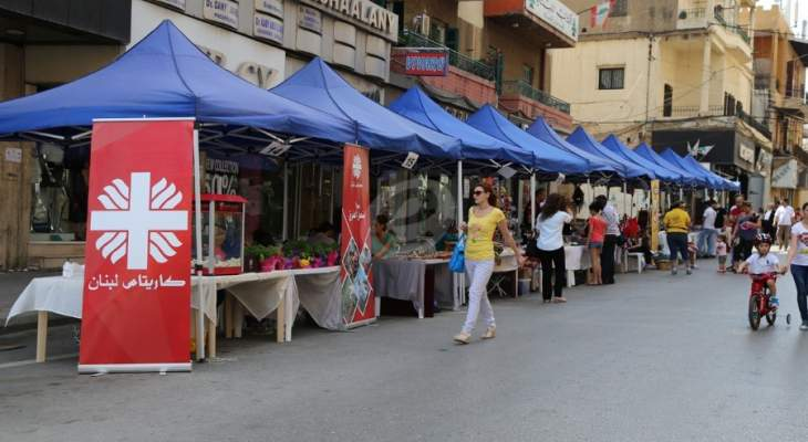 """بلدية فرن الشباك احيت مهرجانها البيئي السنوي """"بلدتي فرحي"""""""