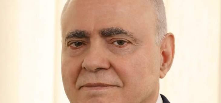 """انطوان بانو لـ""""النشرة"""": ملف التعيينات لم ينضج بعد وعملية طرابلس تفرض اعادة النظر بكل الإجراءات الامنيّة"""