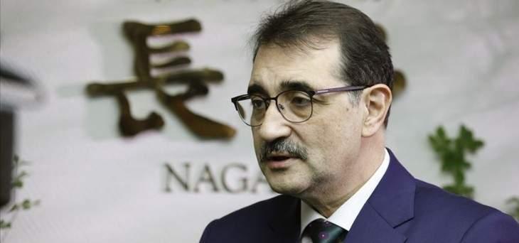 """وزير الطاقة التركي: سنرسل الخميس سفينة """"ياووز"""" إلى شرق المتوسط للتنقيب"""