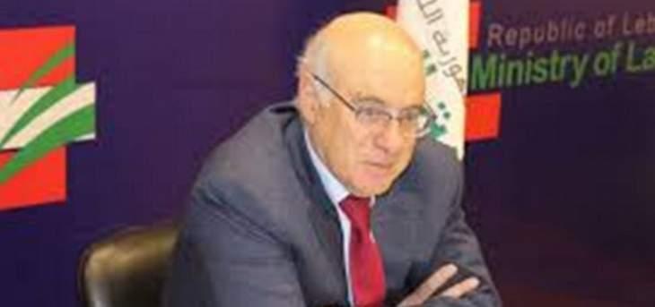 أبو سليمان: لقاء الحريري وباسيل انعكس إيجابياً على جدول أعمال الحكومة