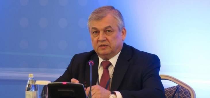 لافرنتييف من الخارجية: التنسيق مستمر لتحقيق العودة الطوعية والآمنة للنازحين