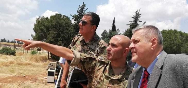 كوبيش: الجيش اللبناني قام بخطوات مهمة لتعزيز ضبط الحدود