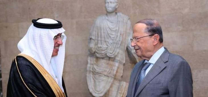 الرئيس عون يؤكد على اهمية عودة السلام والتوافق بين الدول العربية
