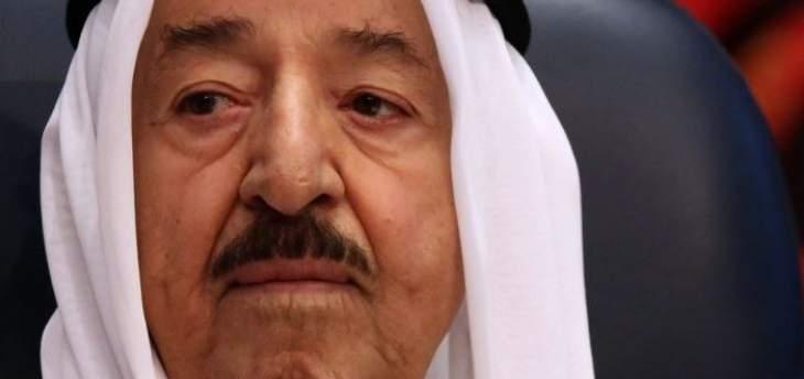 أمير الكويت يتجه إلى العراق الأربعاء في زيارة رسمية