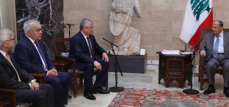 الرئيس عون:المشاركة بمؤتمر استانا لا يلغي حقنا بالبحث مع سوريا بتنظيم عودة النازحين