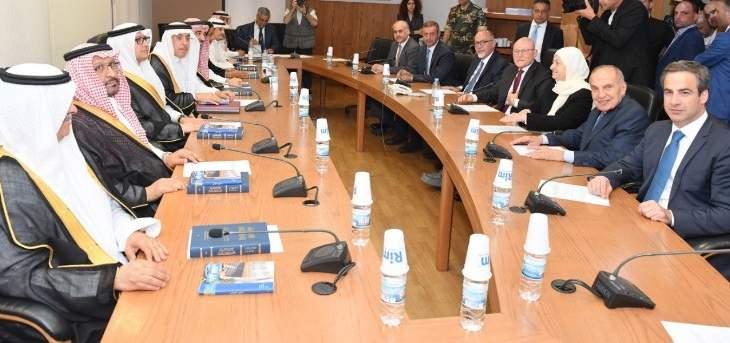 لجنة الصداقة البرلمانية اللبنانية السعودية التقت وفدا من مجلس الشورى السعودي