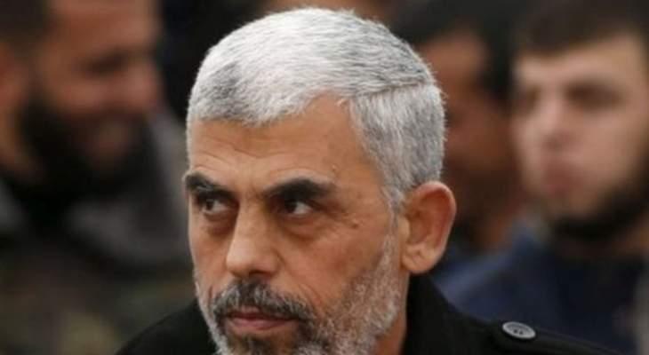 يحيى السنوار نفى تشكيل أي حكومة أو لجنة إدارية في قطاع غزة