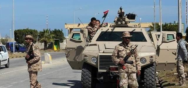 الجيش الليبي أعلن العثور على حطام الطائرة الحربية التي أُسقطت اليوم