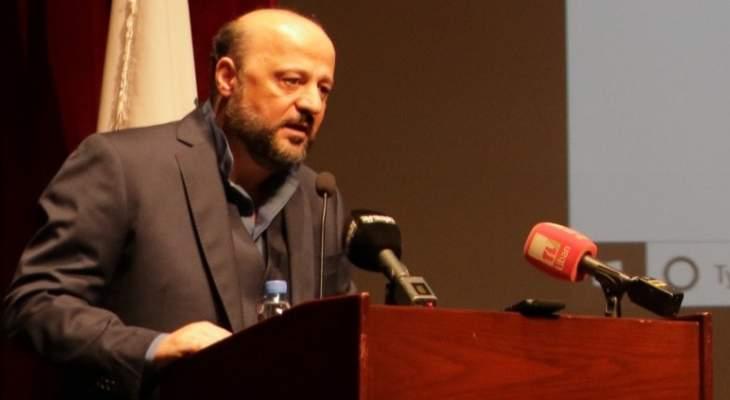 الرياشي رعى المؤتمر الأكاديمي الأول لرابطة أكاديميي الإعلام في لبنان