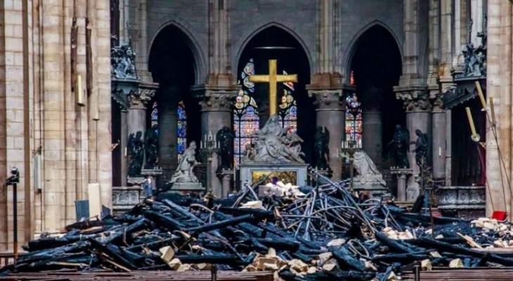 إدارة كاتدرائية نوتردام في باريس تؤكد أن الصرح سيغلق من 5 إلى 6 سنوات