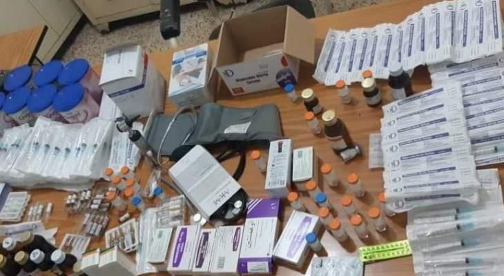 توقيف طبيب سوري يزاول المهنة من منزله في المنية بطريقة غير قانونية