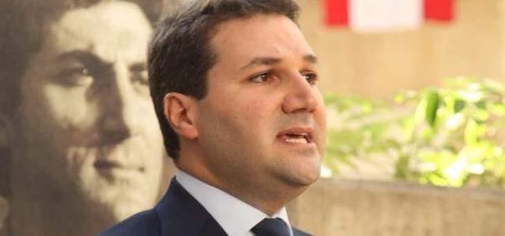 """نديم الجميل: نستغرب عدم رد """"لبنان الرسمي"""" بعد أن نصّب نصرالله نفسه مرشدا للجمهورية"""