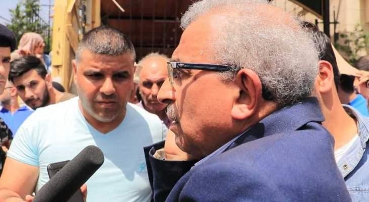 قوى الأمن الداخلي تمنع النائب أسامة سعد من الاقتراب من مخفر صيدا