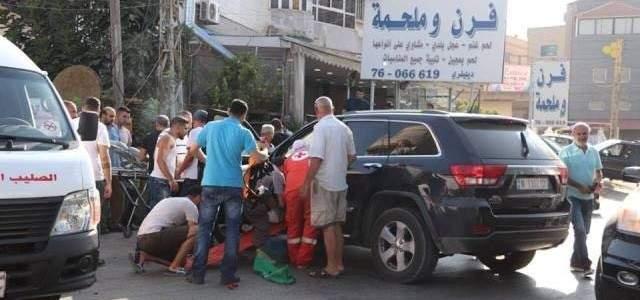 وفاة مواطن واصابة زوجته بحادث سير في النبطية