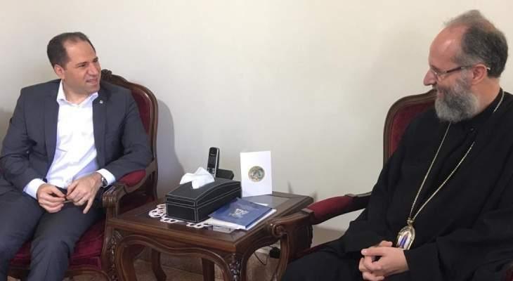 سامي الجميل: لتوحيد الجهود لجمع داتا اللبنانيين في الانتشار