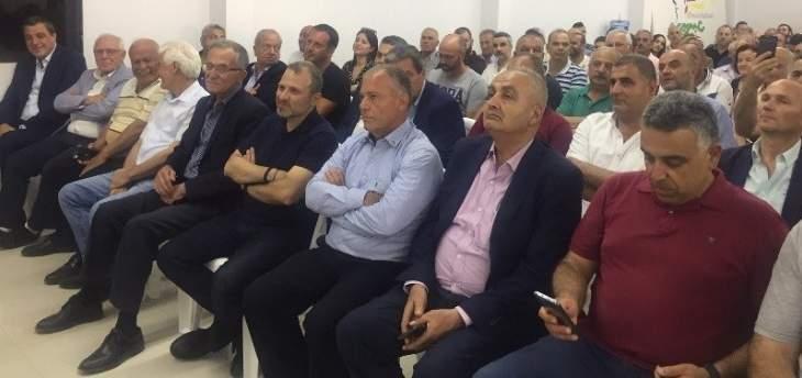 باسيل زار بلدية عبرين: التعاون مع المجالس البلدية لإنماء القرى مهم جدا