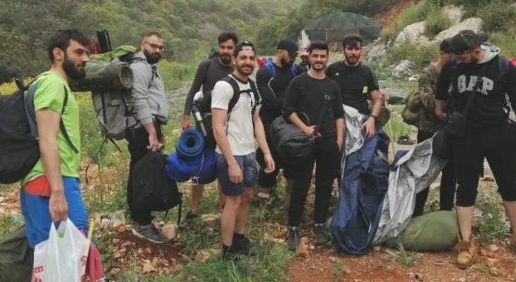 الدفاع المدني أنقذ 12 شابا عند مجرى نهر بسري