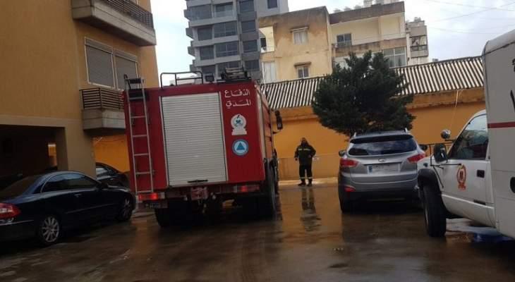 الدفاع المدني: إخماد حريق داخل شقة سكنية في الزلقا- المتن