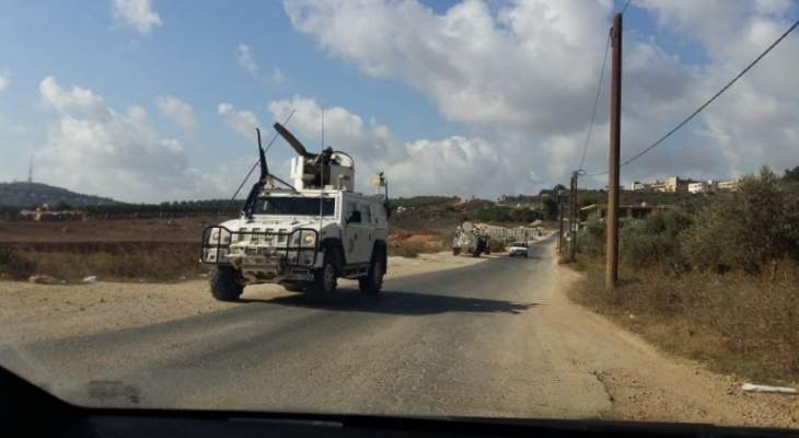 النشرة: قوة اسرائيلية تفقدت السياج الحدودي ما بين تلال الوزاني ووادي العسل