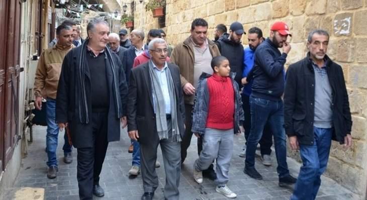 سعد جال في أسواق صيدا التجارية: للمشاركة بتظاهرة الغد بهدف إنقاذ لبنان من الانهيار