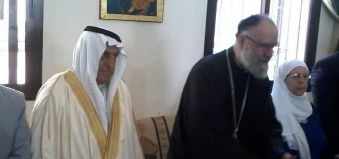 منفذية السويداء في الحزب السوري القومي تقوم بزيارات تهنئة بالقيامة
