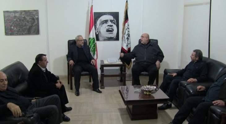 حمدان استقبل وفد من حزب الله برئاسة قماطي