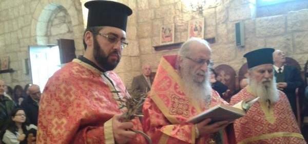 المطران كيرياكوس: يسوع دخل الى اورشليم ملكا متواضعا منتصرا على الموت
