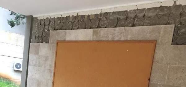 شهيب تابع حادث سقوط حائط في مدرسة الشانفيل
