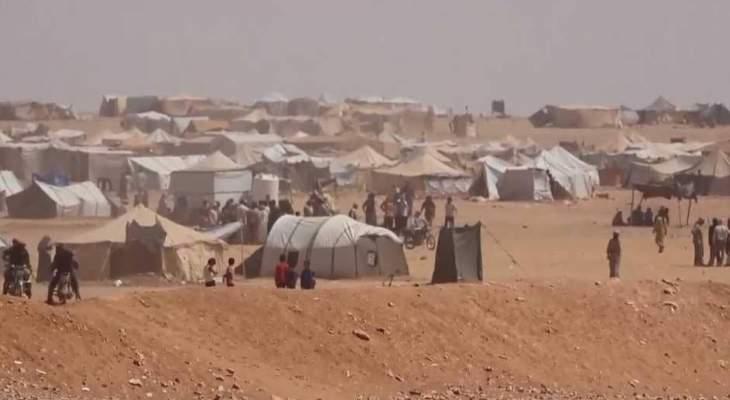 سانا: وصول دفعة جديدة من المهجرين في مخيم الركبان إلى البادية السورية