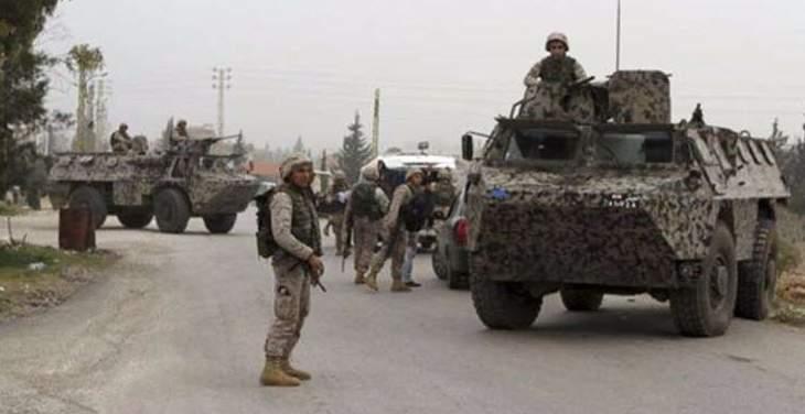 الجيش اللبناني أغلق جميع انحاء طرابلس بقوة عسكرية معززة