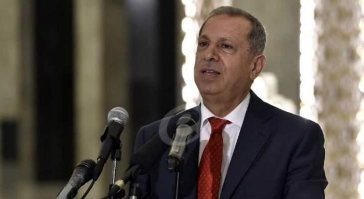 عدنان طرابلسي :اكدنا في اللقاء التشاوري على حماية الامن الاجتماعي
