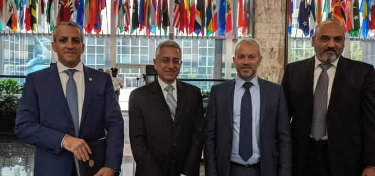حبشي من واشنطن: لوجوب تعزيز الدعم للمؤسسات الأمنية اللبنانية