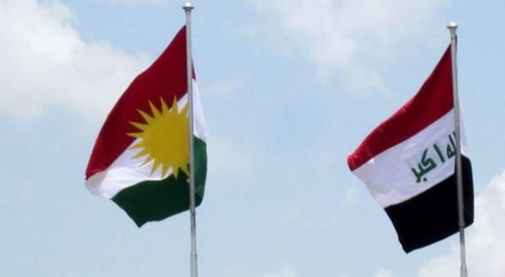 وفد من الحزب الديمقراطي الكردستاني وصل إلى بغداد لبحث تشكيل الحكومة