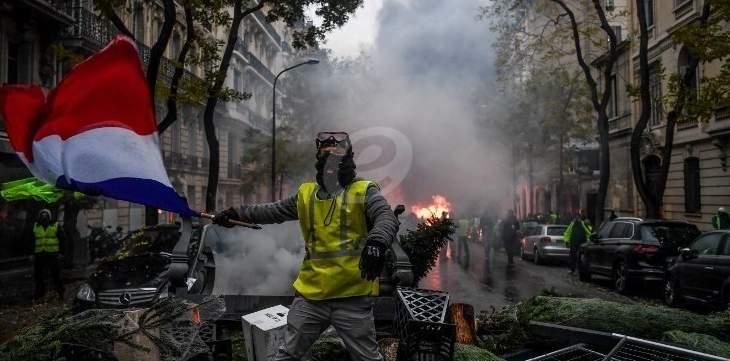 المطالب في فرنسا تنتقل الى السياسة: حلّ البرلمان