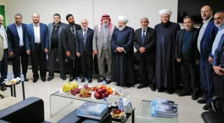 ماهر حمود اطلع من وفد حماس على أوضاع قطاع غزة