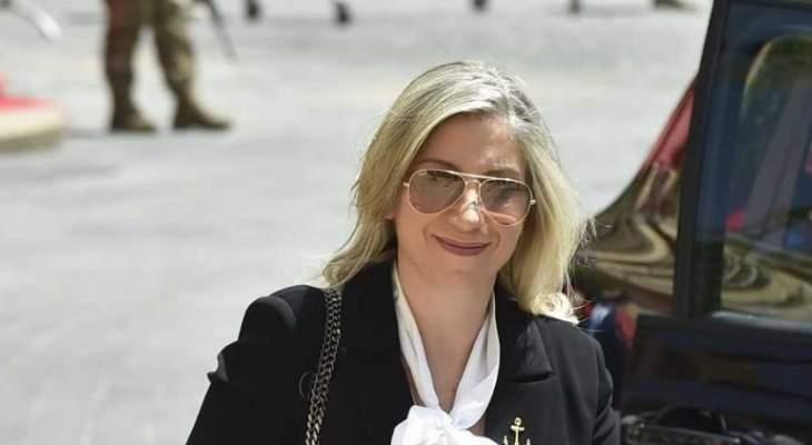 """رولا الطبش لـ""""النشرة"""": مشروع الموازنة لن يطال الفئات الفقيرة والليرة اللبنانية مستقرّة ولا خوف عليها"""