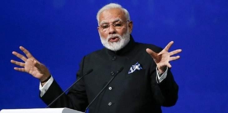 رئيس الوزراء الهندي يتعهد بتوحيد البلاد عقب فوزه الكبير