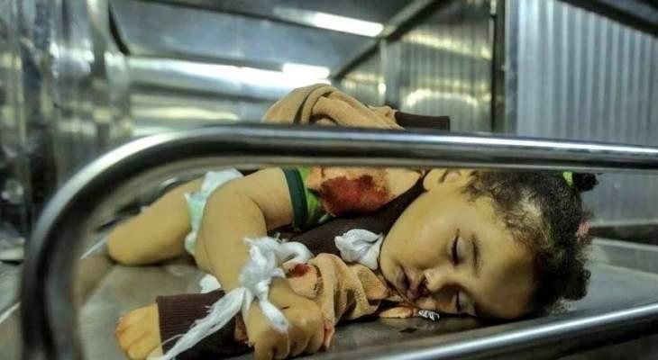 الصحة الفلسطينية: مقتل رضيعة بقصف إسرائيلي شمال قطاع غزة