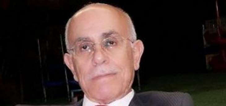 ضاهر: لا عودة حالياً عن الاستقالة التي تنسجم مع محافظتي على حريتي