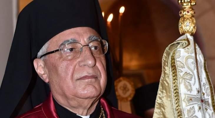 """""""اللقاء الكاثوليكي"""" شكر للعبسي مواقفه الداعمة للمحافظة على حقوق الطائفة"""