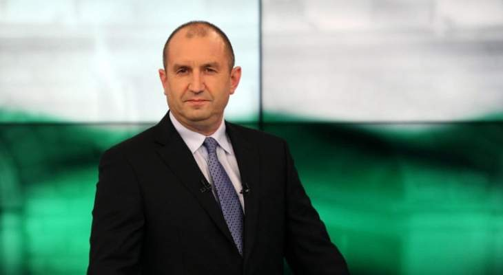 الرئيس البلغاري وضع اكليلا من الزهر على نصب الشهداء في وسط بيروت