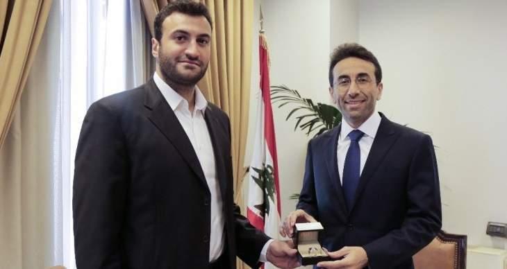 رئيس الإتحاد اللبناني للعبة الكباش زار محافظ بيروت وقدّم له خاتم الأبطال