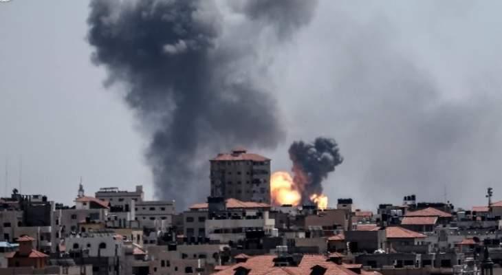 مقتل 12 شخصا نتيجة القصف الإسرائيلي على غزة اليوم